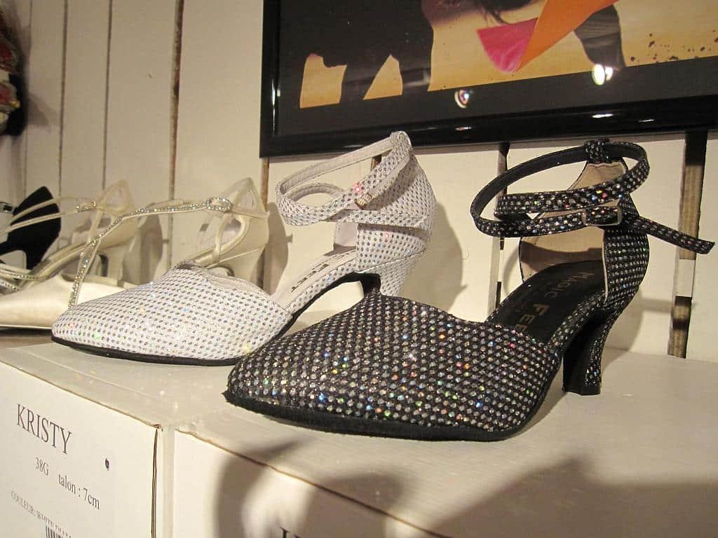 Des chaussures de danse pour femme