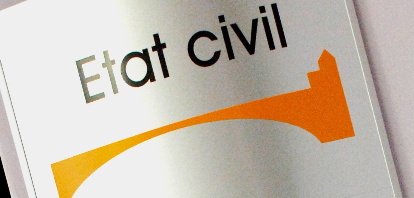 Se rendre à l'état civil