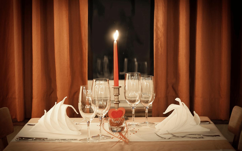 Quel repas préparer pour un dîner en amoureux ?